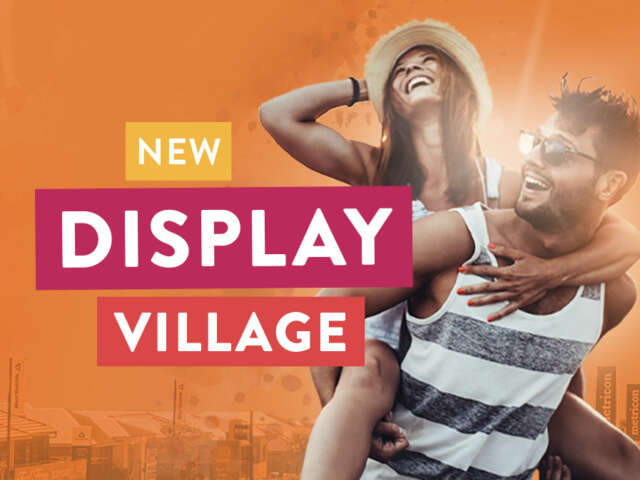 New Vista display village is now open!